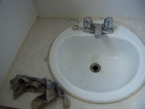Un lavabo bien propre...