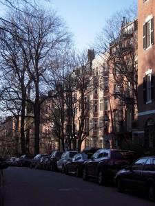 Les vieilles maisons bourgeoises de Beacon Hill