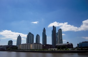 Buildings sur Puerto Madero