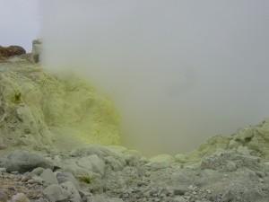 Fumerolle de la Soufrière