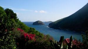 La vue du gîte de l'Anse Figuier