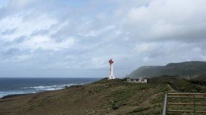La Désirade, vue depuis Baie-Mahault