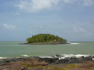 L'île du Diable, où Dreyfus passa quatre années isolé.