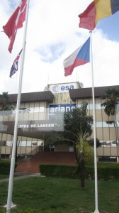 Le bâtiment de lancement Ariane/Vega