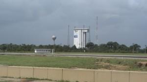 La zone de lancement de Vega