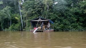 Une barge légère