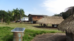 Le village amérindien de Lessé Dédé