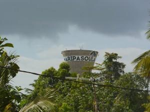 Le château d'eau de Maripasoula