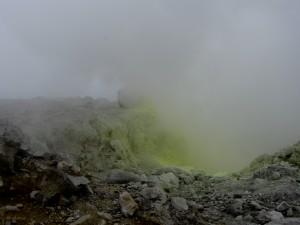 Fumerolle au Cratère Sud