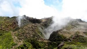 La Découverte, au sommet du volcan